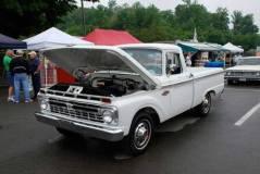 1952 Ford pickup stalled on Memory Lane