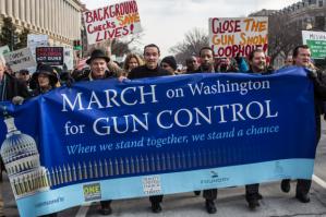 Gun control demo
