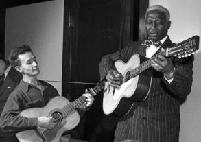 Leadbelly and Woody