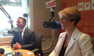 Where's Cuomo?  Teachout debates Republican candidate, Astorino.