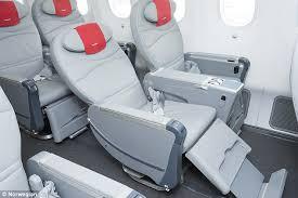 Norwegian Premium class seat