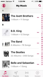 greyed out itunes