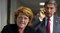 Senators Heitkamp and Manchin