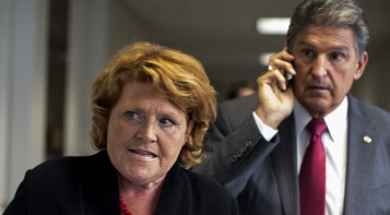 Senators Heitkamp and Manchin